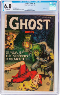 Ghost #6 (Fiction House, 1953) CGC FN 6.0 Off-white pages