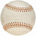Autographs:Baseballs, Baseball Greats Multi-Signed Baseball (27 Signatures) from theBeans Reardon Collection.. ...