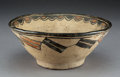 American Indian Art:Pottery, A San Ildefonso Polychrome Bowl...