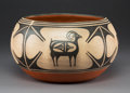 American Indian Art:Pottery, A Santo Domingo Polychrome Jar. Robert Tenorio. ...