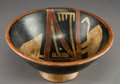 Pre-Columbian:Ceramics, A Nazca Painted Bowl...