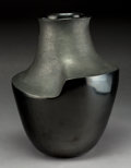 American Indian Art:Pottery, A Contemporary Peruvian Blackware Jar. Lucho Soler. c. 1998...
