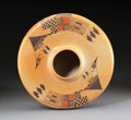 American Indian Art:Pottery, A Contemporary Hopi Polychrome Seed Jar. Camille QuotskuyvaNampeyo. ...
