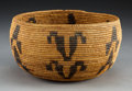 American Indian Art:Baskets, A Paiute Coiled Bowl . c. 1900...