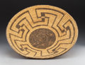 American Indian Art:Baskets, A Pima/Papago Coiled Basket. ...