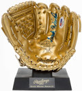 Autographs:Others, Frank Robinson Signed Mini Gold Glove.. ...