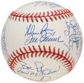 Autographs:Baseballs, 1969 New York Mets - World Series Champions - Team Signed Reunion Baseball (25 Signatures).. ...