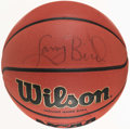 Autographs:Others, Larry Bird Signed Basketball....