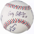 Autographs:Baseballs, 2014 All-Star Game Umpires Multi-Signed Baseball (6 Signatures).....