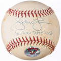 Autographs:Baseballs, Andruw Jones Signed Game Used Baseball.. ...