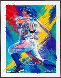 Autographs:Others, 2007 David Wright Signed Bill Lopa Limited Edition Giclee Print.....