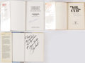 Autographs:Others, Chicago Cubs Signed Book Lot of 3 with Banks, Santo, &Williams.. ...