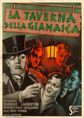 "Movie Posters:Hitchcock, Jamaica Inn (Scalera, 1940). Italian 4 - Fogli (55"" X 77""). CarloLudovico Bompiani Artwork.. ..."