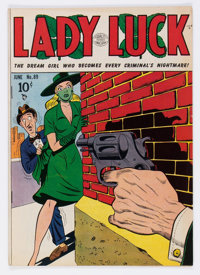 Lady Luck #89 (Quality, 1950) Condition: VF-