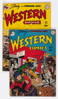 Golden Age (1938-1955):Western, Western Comics #2 and 3 Group (DC, 1948) Condition: VG/FN....(Total: 2 Comic Books)