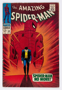 The Amazing Spider-Man #50 (Marvel, 1967) Condition: VG-