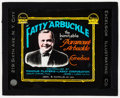 """Movie Posters:Comedy, Roscoe 'Fatty' Arbuckle (Paramount, 1910s). Stock Glass Slide(3.25"""" X 4""""). Comedy.. ..."""