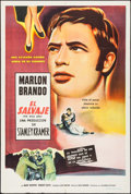 """Movie Posters:Exploitation, The Wild One (Columbia, 1954). Argentinean One Sheet (29"""" X43.25""""). Exploitation.. ..."""