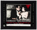 """Movie Posters:Drama, Fifty-Fifty & Other (Triangle, 1916). Very Fine-. Glass Slides (2) (3.25"""" X 4""""). Drama.. ... (Total: 2 Items)"""