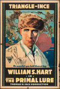 "Movie Posters:Drama, The Primal Lure (Triangle-Ince, 1916). One Sheet (28"" X 41"").Drama.. ..."