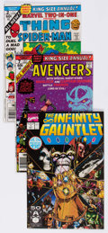 Modern Age (1980-Present):Miscellaneous, Marvel Modern Age Thanos and Warlock Related Group of 4 (Marvel, 1990s).... (Total: 4 Comic Books)
