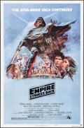 """Movie Posters:Science Fiction, The Empire Strikes Back (20th Century Fox, 1980). One Sheet (27"""" X 41"""") Style B, Tom Jung Artwork. Science Fiction.. ..."""