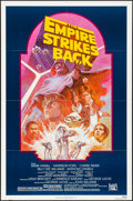 """Movie Posters:Science Fiction, The Empire Strikes Back (20th Century Fox, R-1982). One Sheet (27""""X 41"""") Tom Jung Artwork. Science Fiction.. ..."""