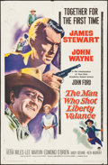 Movie Posters:Western, The Man Who Shot Liberty Valance (Paramount, 1962).