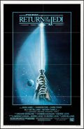 "Movie Posters:Science Fiction, Return of the Jedi (20th Century Fox, 1983). One Sheet (27"" X 41"")Style A, Tim Reamer Artwork. Science Fiction.. ..."