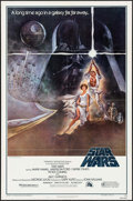 """Movie Posters:Science Fiction, Star Wars (20th Century Fox, 1977). Third Printing One Sheet (27"""" X41"""") Style A, Tom Jung Artwork. Science Fiction.. ..."""