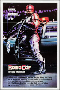 """RoboCop (Orion, 1987). One Sheet (27"""" X 41"""") Mike Bryan Artwork. Action"""
