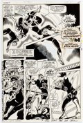 Original Comic Art:Panel Pages, Gene Colan and George Klein Daredevil #46 Story Page 11Original Art (Marvel, 1968)....