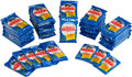 Baseball Cards:Unopened Packs/Display Boxes, 1983 Topps Test Baseball Packs Collection (56) With Print Error Pack. ...