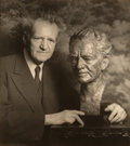 Photographs:Gelatin Silver, Arnold Genthe (American, 1869-1942). Sculpture by A.L. Rona, 1940. Gelatin silver. 8-7/8 x 7-7/8 inches (22.5 x 20.0 cm)...
