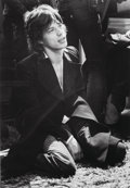 Photographs, Bob Gruen (American, b. 1945). Mick Jagger, NYC, 1972. Gelatin silver, 2008. 15-3/4 x 11 inches (40.0 x 27.9 cm). Signed... (Total: 2 Items)