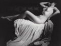 Photographs, George Hurrell (American, 1904-1992). Judith, 1934. Gelatin silver, printed later. 10-1/2 x 13-1/2 inches (26.7 x 34.3 c...