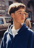 Photographs:Chromogenic, Larry Clark (American, b. 1943). Untitled (Portrait of a boy). Dye coupler. 7 x 5 inches (17.8 x 12.7 cm). Signed in ink...