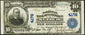 National Bank Notes, Saint Louis, MO - $10 1902 Plain Back Fr. 601 The NB of CommerceCh. # 4178. ...