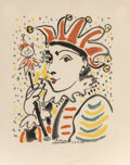 Prints & Multiples, After Pablo Picasso . Carnaval, 1958. Lithograph in colors on Arches paper. 19 x 14-1/2 inches (48.3 x 36.8 cm) (image)...