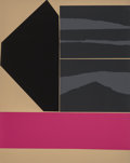 Prints & Multiples, Louise Nevelson (1899-1988). American Jewish Congress, 1974. Screenprint in colors on Arches paper. 28 x 22 inches (71.1...