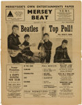 Music Memorabilia:Memorabilia, Beatles - Copy of Mersey Beat Vol. 1, No. 13 (UK, 1962). Very Few Copies Known to Exist. ...