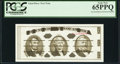 Small Size:Group Lots, Giori Jefferson Note PCGS Gem New 65PPQ.. ...