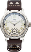 Timepieces:Wristwatch, IWC Platinum Vintage Collection Pilot IW325405 Limited Edition148/500. ...