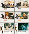 "Movie Posters:Crime, Dirty Harry & Others Lot (Warner Brothers, 1971). Lobby Cards(6) (11"" X 14""). Crime.. ... (Total: 6 Items)"