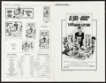 """Movie Posters:James Bond, Live and Let Die (United Artists, 1973). Uncut Pressbook (8 Pages, 11"""" X 17"""") & Press Information (18) (8.5"""" X 11""""). James B... (Total: 19 Items)"""