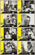 """Movie Posters:Academy Award Winners, Midnight Cowboy (United Artists, 1969). Lobby Card Set of 8 (11"""" X14"""") & Uncut Pressbook (12 Pages, 11"""" X 17""""). Academy Awa...(Total: 9 Items)"""