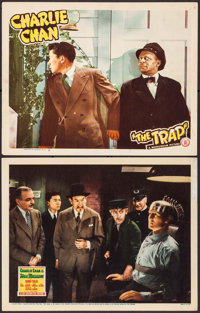 """Charlie Chan at the Wax Museum & Other Lot (20th Century Fox, 1940). Lobby Cards (2) (11"""" X 14""""). Mystery..."""