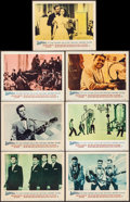 "Movie Posters:Rock and Roll, Jamboree (Warner Bros., 1957). Fine/Very Fine. Lobby Cards (7) (11"" X 14""). Rock and Roll.. ... (Total: 7 Items)"