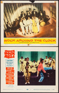 """Movie Posters:Rock and Roll, Mister Rock and Roll & Other Lot (Paramount, 1957). Lobby Cards (2) (11"""" X 14""""). Rock and Roll.. ... (Total: 2 Items)"""