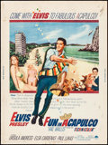 "Movie Posters:Elvis Presley, Fun in Acapulco (Paramount, 1963). Poster (30"" X 40""). ElvisPresley.. ..."